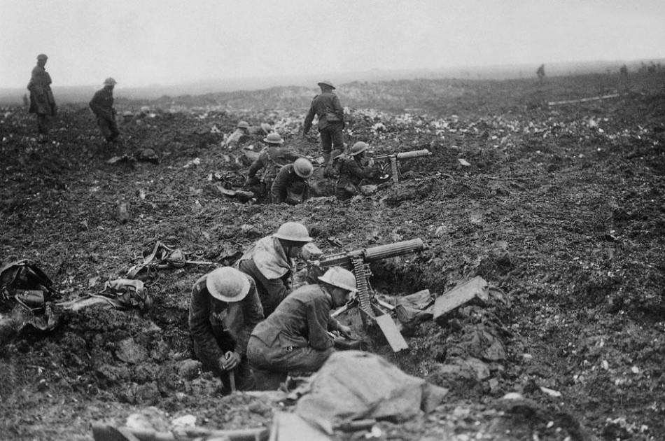战争非儿戏:40张图片展现真实残酷一战