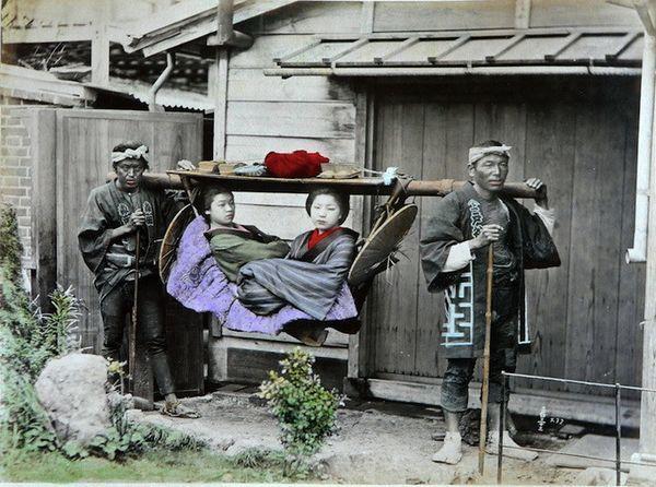 甲午战争后日本本土罕见彩照