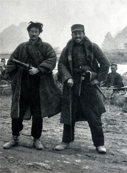 侵华日军特工队罕见照:仅脑袋和四肢是日本造