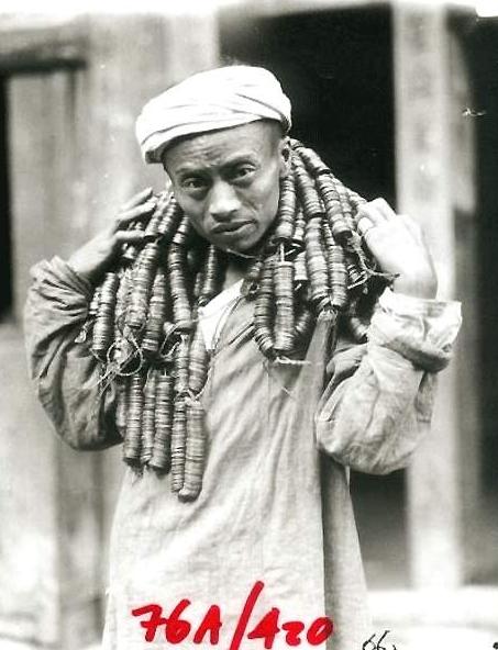 裹小脚、脖子上吊铜钱:1917-1919年中国