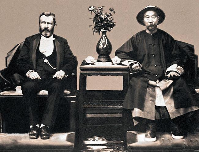 为拍照片换装:第一位访问美国的清朝高级官员