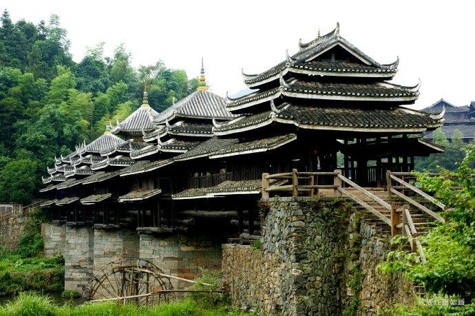三江程阳风雨桥 鼓楼放歌侗族韵