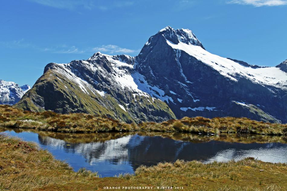新西兰米尔福德徒步 欣赏醉人风景