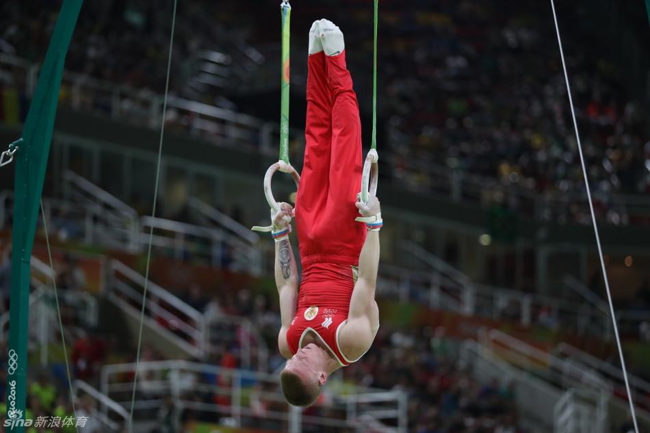里约奥运会体操单项男子吊环