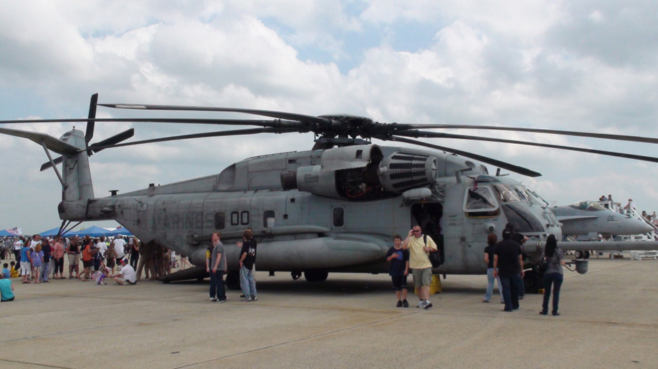ch-53e海上种马重型垂直升机