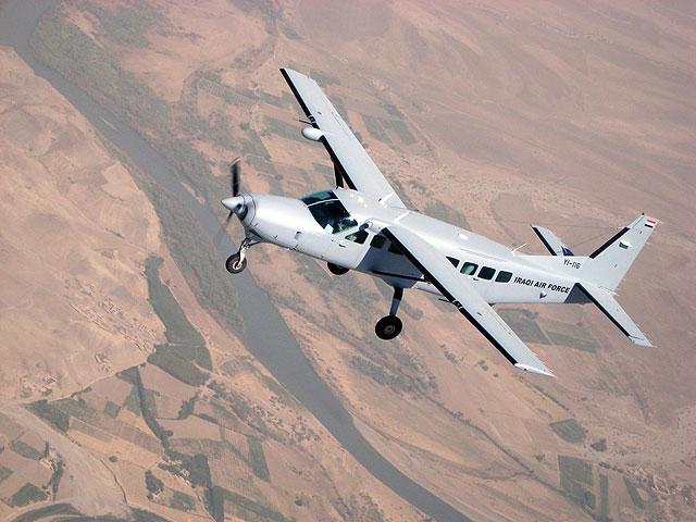 联队的塞斯纳208飞机