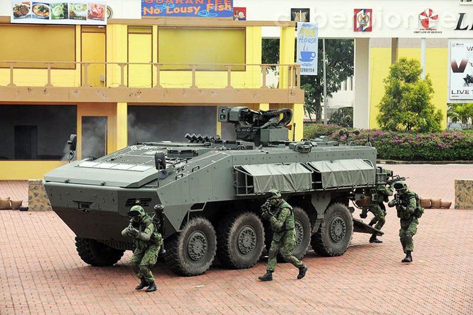 新加坡最新服役的Terrex ICV轮式步战车[7P]