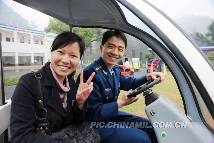 广空军地联谊:大龄青年牵线搭桥 介绍对象大联欢