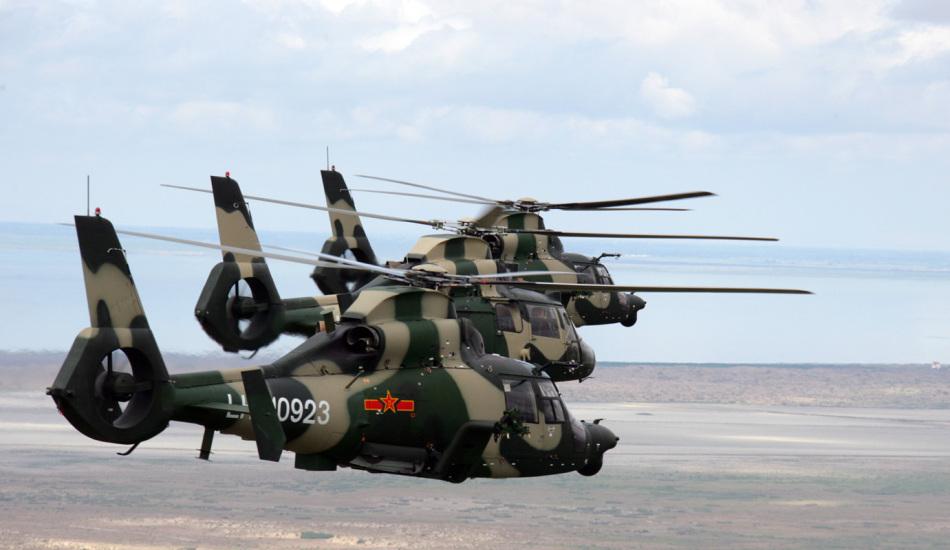 肯尼亚接收中国造武装直升机 z-9已出口五国_高清图集