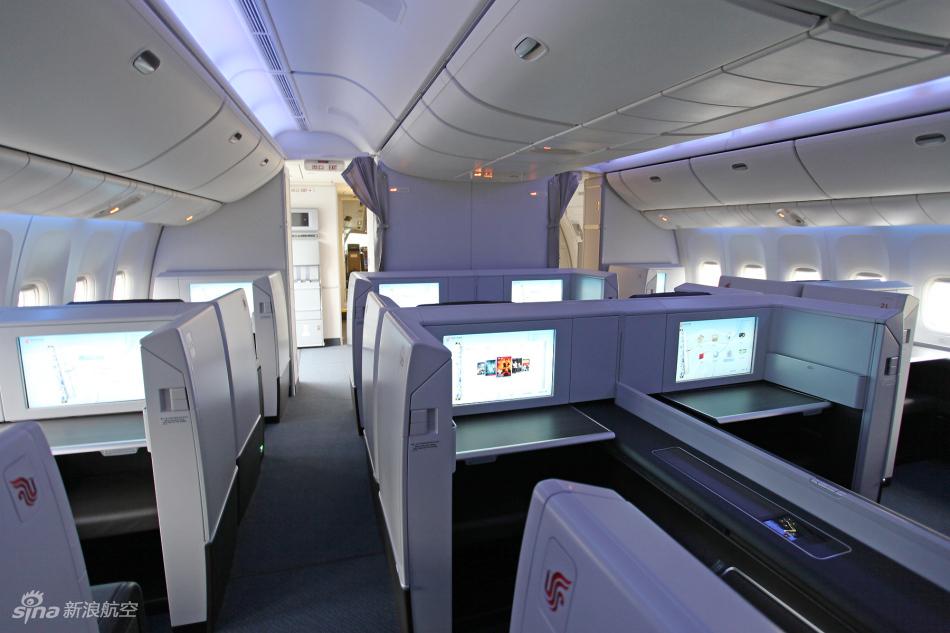 国航波音777-300er客机头等舱高清图集