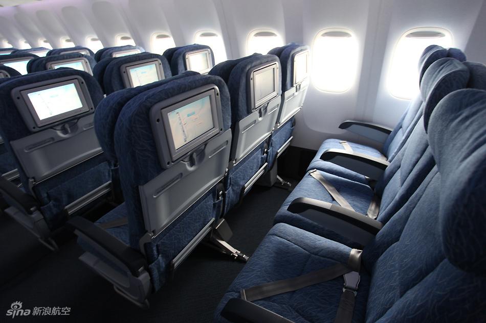 7 300ER客机经济舱高清图集