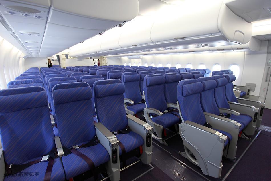 架空客A380客机经济舱