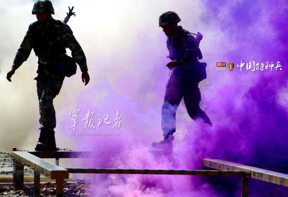 """中国武警""""雪豹突击队""""组建于2002年12月,是一支中外闻名的精锐图片"""