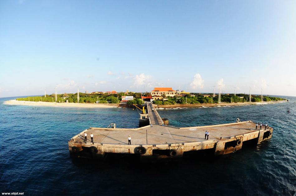 越南占领中国南海岛礁数量最多 正在疯狂扩建
