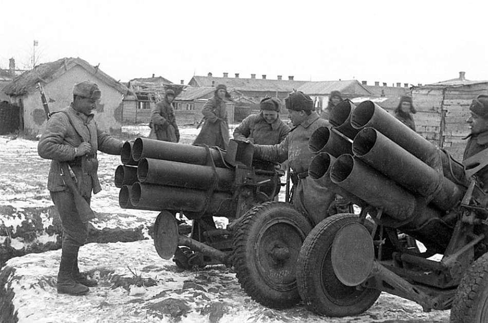 在斯大林格勒战役中德军损失火炮和迫击炮1万余门图片