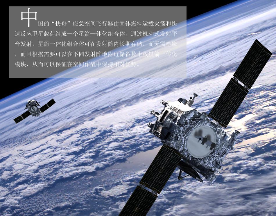 """中国或正在发展""""快舟""""空间作战武器"""
