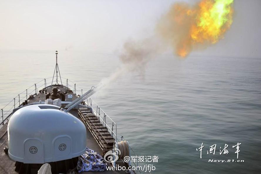 Быстрое огня двуствольное зенитного огня вблизи артиллерии