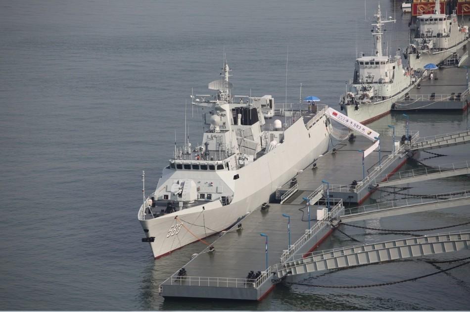 583 056 ВМС Китая фрегат корабль Shangrao