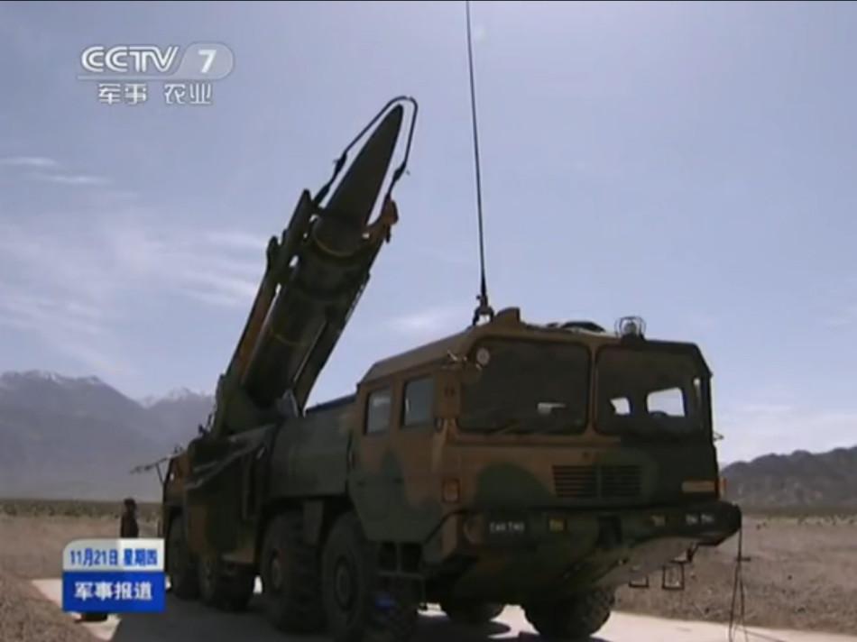 Dongfeng 11 тактический ракетный монтажник