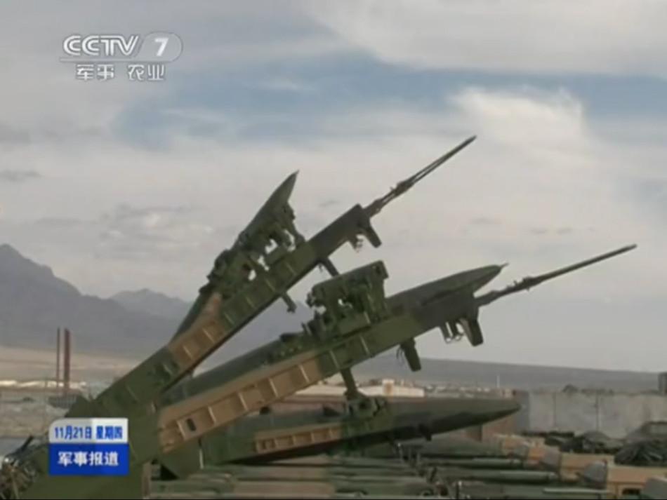 Тактические ракеты в порядке эрекции
