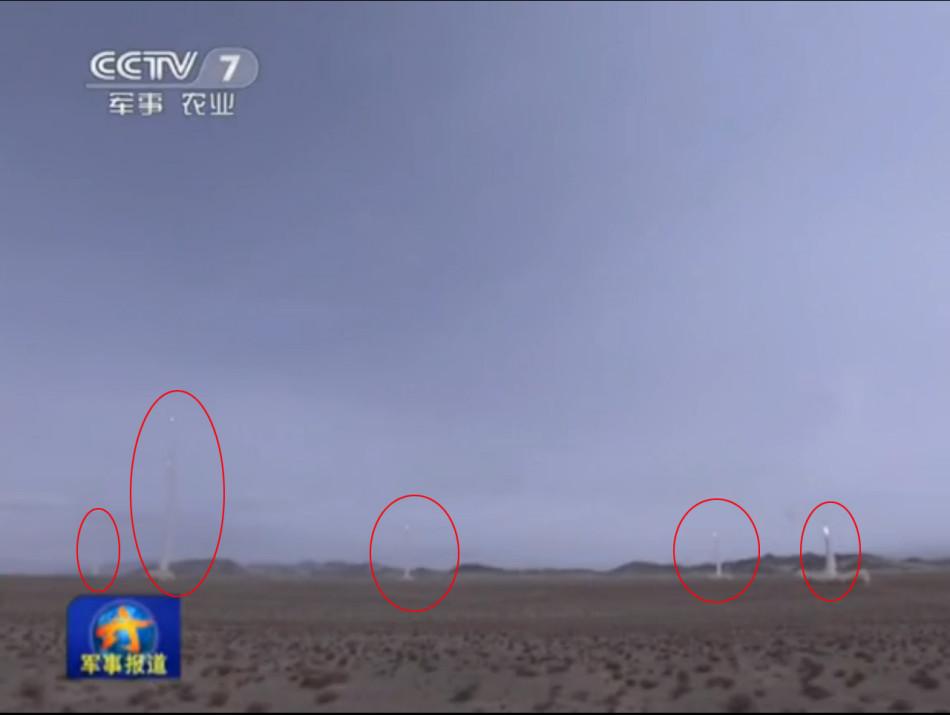 Multi-тактических ракет всплески