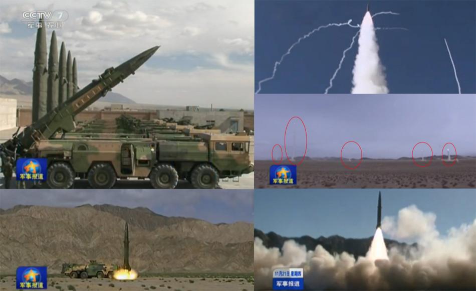 Артиллерия Taifashenwei: DF11 тактический ракетный запуск удаленных атак стаи