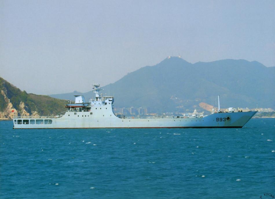 身为航空母舰战斗群头号护卫兵力,配备宙斯盾系统的提康德罗加级舰