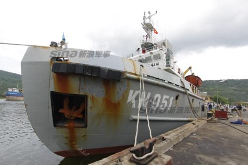 越南撞烂_中国执法船撞烂越南侵权船只