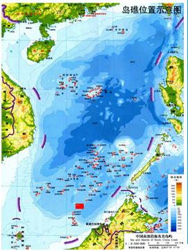 南海被占岛礁盘点之文莱侵占一处礁盘