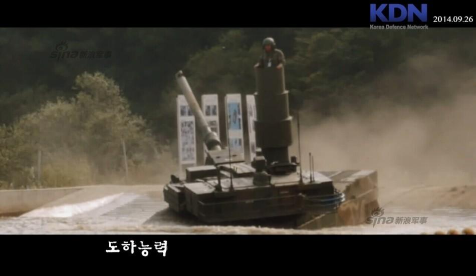 欲统一朝鲜半岛?韩国K2黑豹坦克2015年产10