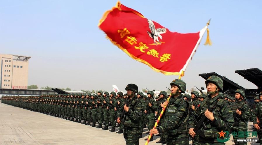 鹰突击队,原名中国人民武装警察部队特种警察学院特种作战大队,图片