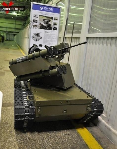 时髦!俄动用战斗机器人保卫重要基地