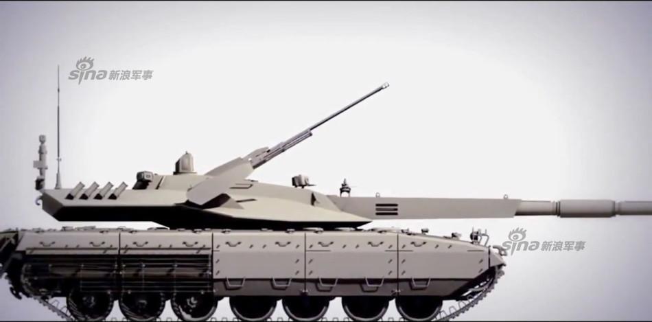 俄媒称俄军最新T14坦克将参加5月9日红场阅兵