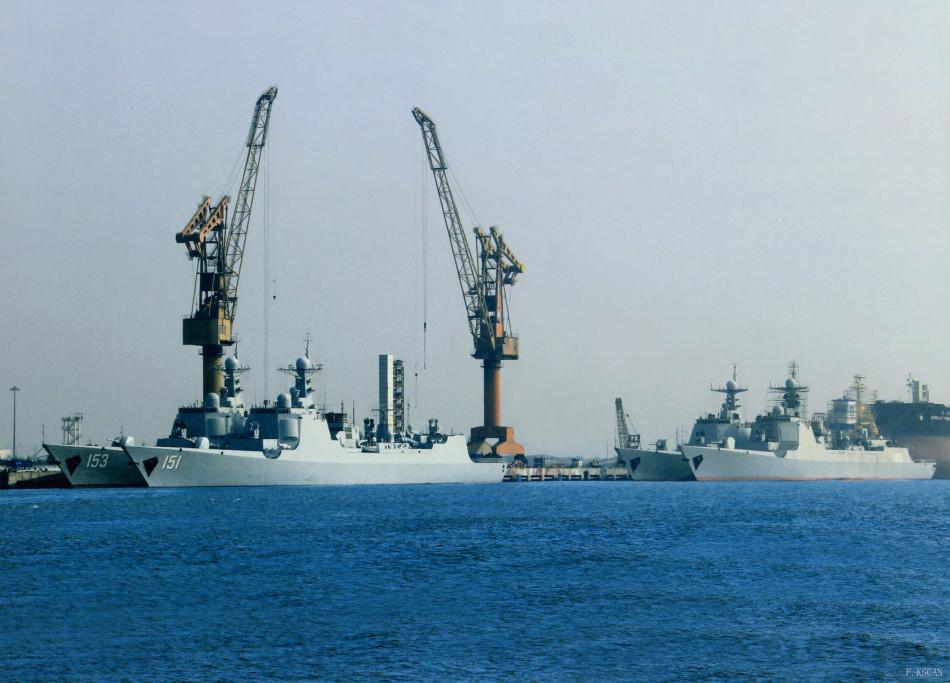 军工船厂多艘新舰等服役