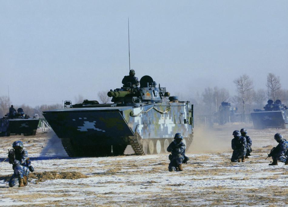 海军陆战队攻击群寒区作战