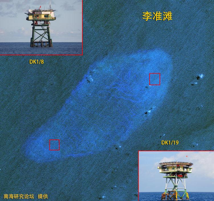 越南媒体显示一组照片,照片中越南海军第83工兵旅887营正在南沙填岛!
