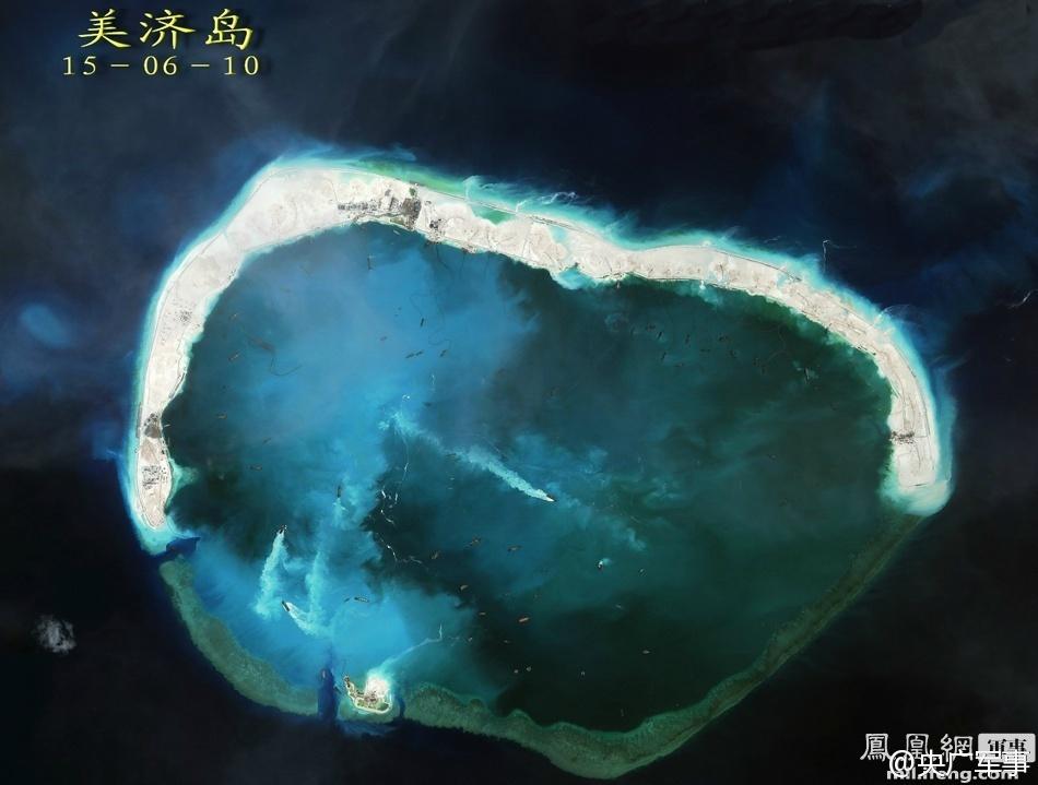 中越南海造岛对比:越南不自量力抢中国地盘