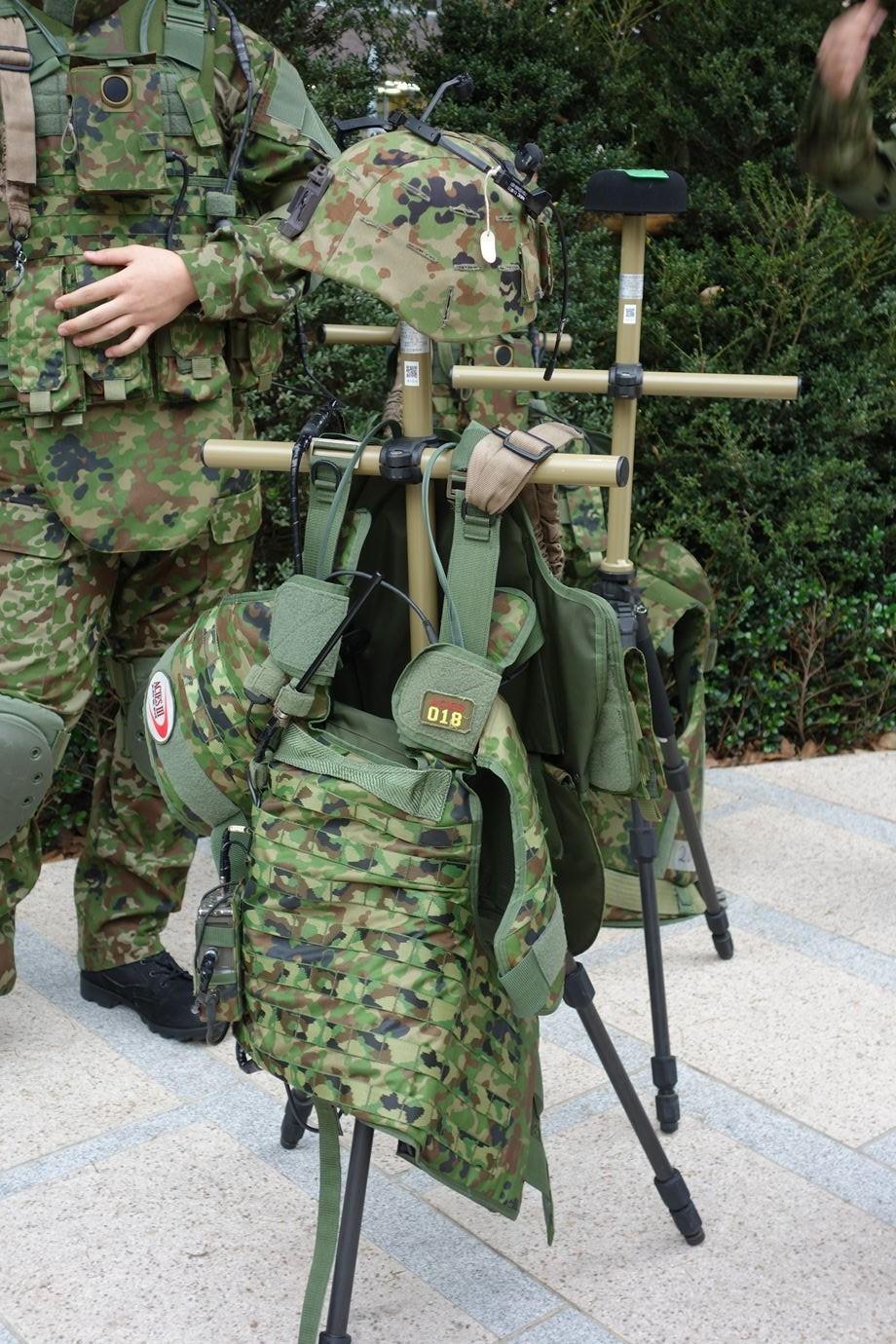 日本陆上自卫队单兵装备