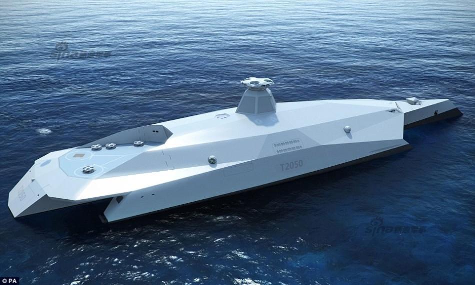 英披露未来战舰概念方案 外形似太空战舰超科幻图片
