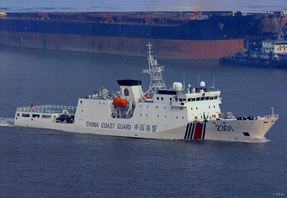 官媒放海军新锐大图 173与174号新大驱近距照