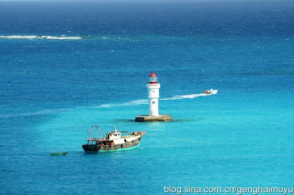 我南海岛礁灯塔