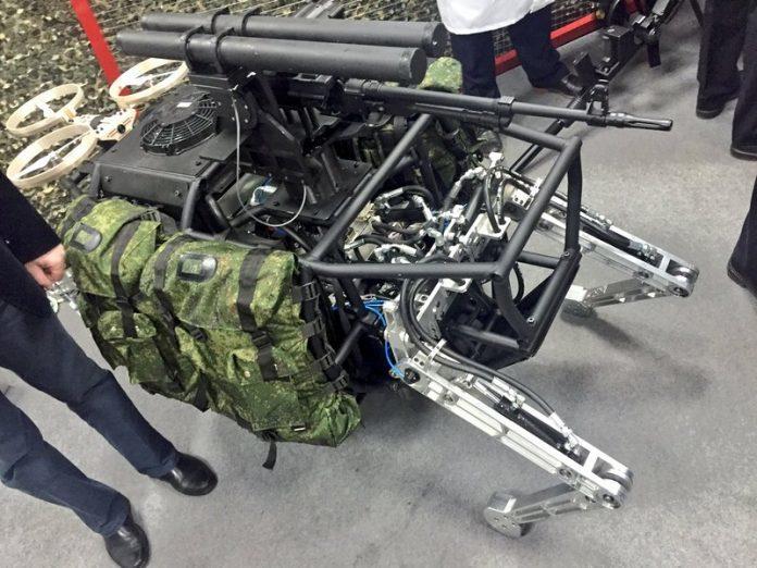 中美俄竞逐战场机器人 人工智能或比核武更危险