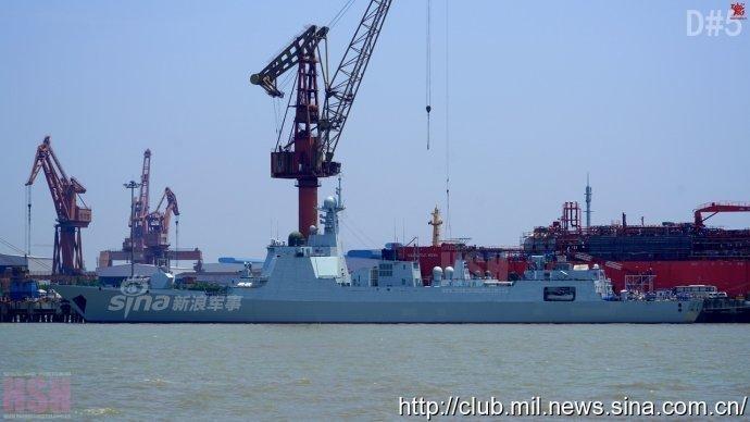 南海舰队有几艘驱逐舰 中国最先进的驱逐舰是什么型号的