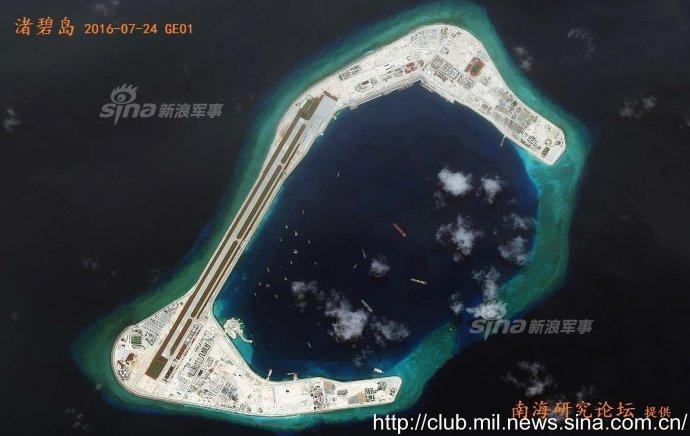 中国美济岛,渚碧岛最新高清图