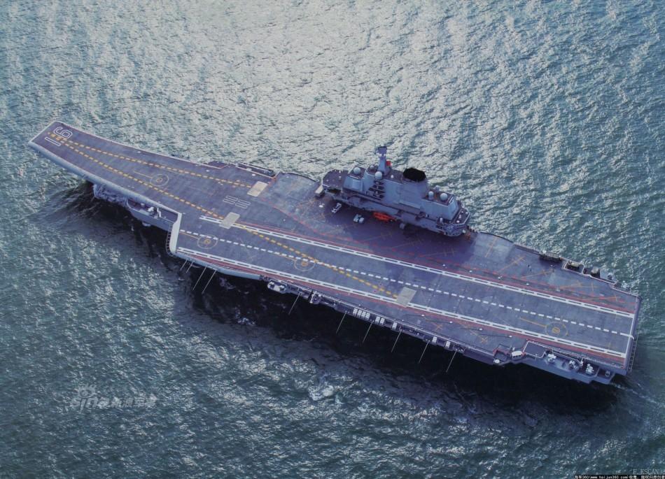 这样才是大国范 辽宁号航空母舰高清霸气壁纸