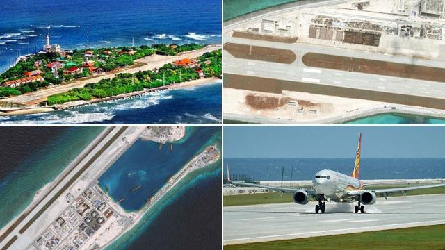 越南在南海填岛建跑道 中国建4大岛礁机场完胜