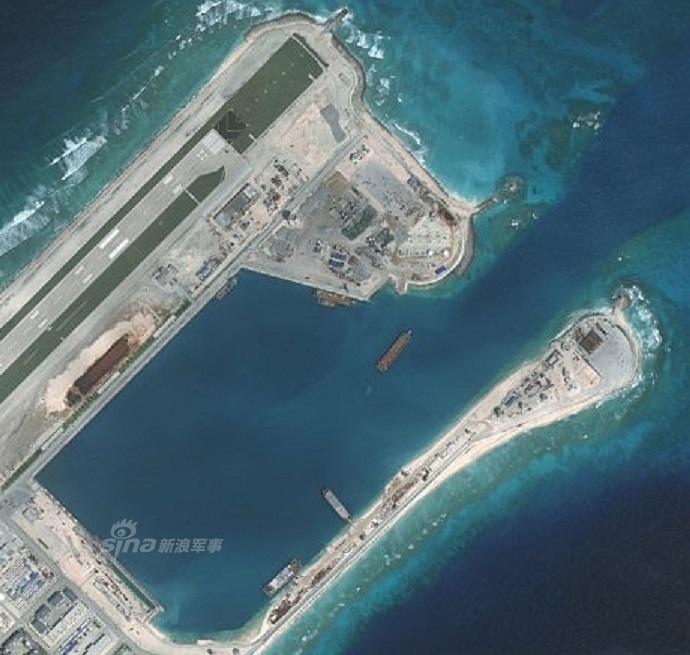 阅读更多关于《我国在南海的永暑岛配属火箭炮?国防部回应》