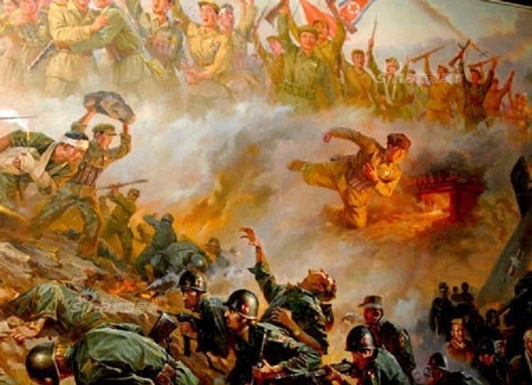 还是记得中国的牺牲!朝鲜画家笔下人民志愿军