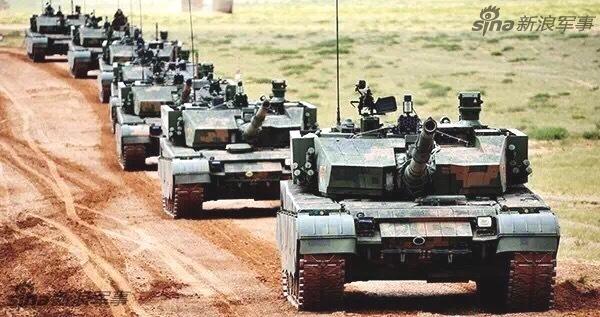 亚洲无敌!解放军99式坦克突击