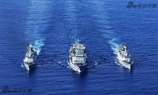 中国军舰另一面:各式舰徽舰歌